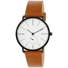 Skagen Men's SKW6216 Brown Leather Quartz Dress Watch