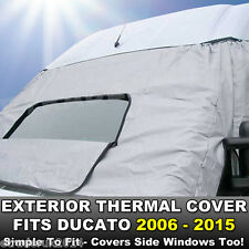 FIAT DUCATO 06-15 Motorhome Van Exterior External Window Thermal Cover Blind New
