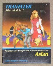 Traveller Alien Module 1 - Aslan - Game Designer's Workshop #254