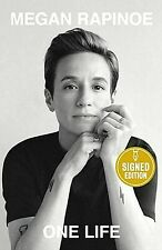 ONE LIFE by MEGAN RAPINOE **SIGNED** NEW HARDCOVER 2020 1ST/1ST FREE SH