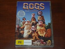 Gogs The Complete Series incl. Gogwana & collectors booklet DVD R4 Animation