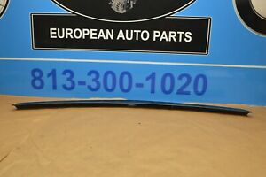 2011 W212 MERCEDES E63 E350 E550 SEDAN TRUNK LID SPOILER WING BLUE METALLIC