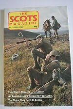 The Scots Magazine. Vol. 128, No. 1. October, 1987. To Build An Iron Age House.