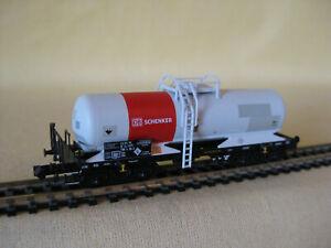 Trix 15659 Säurekesselwagen der DB Schenker Rail   Spur N