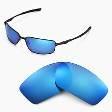 4bf341a06a New Walleva Polarized Ice Blue Replacement Lenses For Oakley Splinter  Sunglasses
