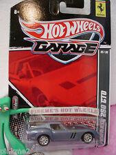 2011 Garage #5/6 FERRARI 250 GTO☆Walmart Ex Blue-Gray☆Real Riders☆Hot Wheels
