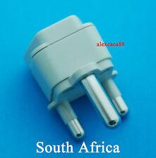 Universal UK AUS USA Euro to South Africa Type M Travel Adaptor AC Power Plug