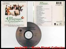 4 MARIAGES ET 1 ENTERREMENT - Grant,McDowell (CD BOF/OST) Sting,E.John... 1994