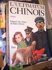 l'ultimatum chinois de edward  mc ghee et robin moore