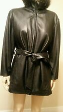 Wilson's Leather Black Woman Jacket Thinsulate Insulation Size L NW/Out Tag