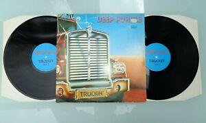DEEP PURPLE-TRUCKIN'..RARE! SUPERB! 1ST PRESS N/MINT DOUBLE VINYL LP 1982