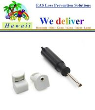 To Hawaii - 200 pcs Eas Rf Anti Theft Checkpoint Compatible Optical Tag + Tool