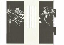 Munoz-carton-Objet 3d -exposition - librairie La Marque Jaune-Liège-1997