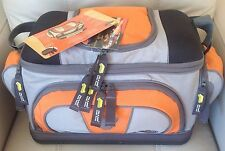 PLANO Fishing Tackle Carry Bag w/ 4 Utility Lures Large Storage Boxes - 4672