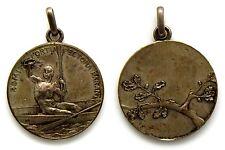 Medaglia Argento Sportiva Di Canottaggio Remi Fortia Pectora Parant (S. Johnson)
