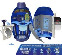 Mega Man Fully Charged Mega Buster Lab 9.25-Inch Playset Holds 6 Figures