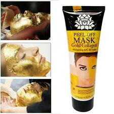 24K Gold Collagen Blackhead Mask Deep Cleansing Pore Face Peel Off Mask 120ml