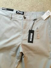 RWH14 NEW Khakis Tailored Comfort men's pants size 38 x 32 msrp $98