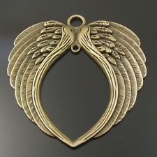 Vintage Bronze Alloy Angel Sword Shape Jewelry Crafts Pendant Charms 20pcs 50514