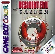 GameBoy Color game - Resident Evil Gaiden (cartridge)