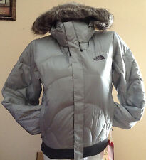 NWT THE NORTH FACE SAMMIE WOMENS LARGE PUFFER BOMBER DOWN JACKET $400