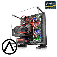 Intel i7-7700K GeForce GTX 1080 Ti SSD Liquid Cooled Video Editing Gaming PC