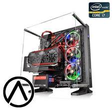 Intel i7-6700K OC 4.5GHz GeForce GTX 1080 SLI SSD Liquid Cooled Gaming Computer