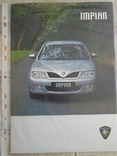 Proton Impian range brochure Dec 2006