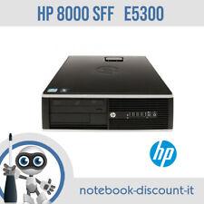 HP Compaq 8000 Elite SFF Pentium Dual Core E5300 Ram 4gb HDD 500gb WINDOWS 10