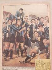 INTER INTERNAZIONALE F.C. CALCIO -  1961 CAMPIONE D' INVERNO - BRINDISI MORATTI