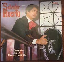 SALVADOR HUERTA EL ROMANTICO DE LA CANCION RANCHERA MEXICAN 1984 LP CUT OUT