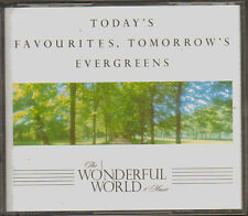 READERS DIGEST TODAY'S FAVOURITES TOMORROW'S EVERGREEENS 3  COMPACT DISCS CDS