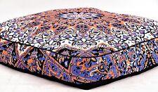 Star Mandala Printed Indian Cat Dog Pets Bed Ethnic Large Floor Pillow Decor