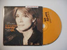 FRANCOISE HARDY en duo avec OI. : CELUI QUE TU VEUX ♦ CD SINGLE PORT GRATUIT ♦