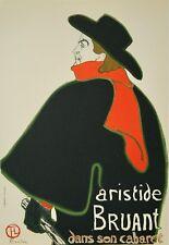 f164a8119d0 Henri de toulouse-lautrec-litho monogrammée-Aristide Bruant