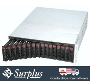 Supermicro 8 Blade MicroCloud Server SYS-5037MC-H8TRF 8x X9SCD-F E3-1270 32GB