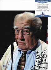 Ed Asner Up Elp Signed Autograph 8x10 Photo W/ Inscription Beckett BAS COA #4