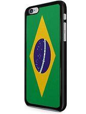 NAZIONE BANDIERA iPhone 6/7 CUSTODIA COVER BRASILE