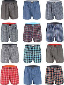 Herren Boxershorts Webboxer Boxer Shorts Unterhosen 4/6/8/10/20er Pack B900