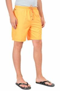 "Hugo Boss ""Orca"" Orange Swim Board Shorts Size US M IT 50"