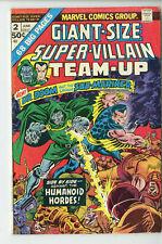 Giant-Size Super-Villain Team-Up Comic Book #2 Marvel Comics 1975