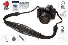 Camera Strap Adjustable Shoulder Strap Sling DSLR Canon Nikon Black is0940