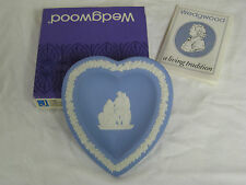 NEW in Box, WEDGWOOD Jasperware Heart Tray Excel XL-23, J1006, Made in England