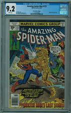 Amazing Spider-Man #173 35 Cent Price Variant CGC 9.2 WHITE PAGES Marvel Bronze