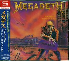 MEGADETH PEACE SELLS BUT WHO'S BUYING 2013 SHM CD+4 - MINT CONDITION WITH OBI