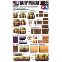 Tamiya 35266 Modern U.S. Military Equipment Set 1/35