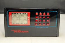 Vintage 1980  Mattel Electronics Computer Backgammon Game AS IS UNTESTED