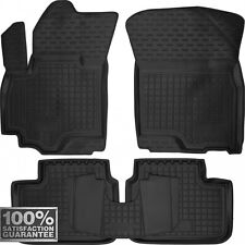 Rubber Carmats for Suzuki SX4 Swift 2006-2012 All Weather Tailored Floor Mats