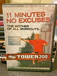 Body By Jake : Tower 200 11 Minutes No Excuses Exercise Burn Fat DVD
