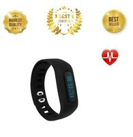 Fitness Tracker HR Activity Heart Rate Sleep Monitor Smart Watch Step Count